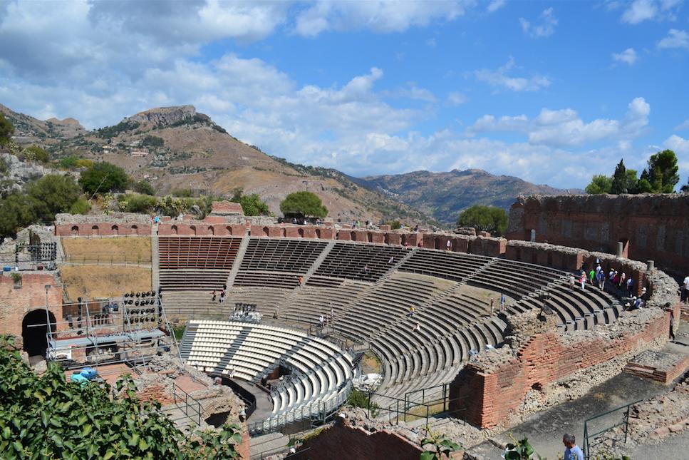 Anfiteatro romano, Taormina